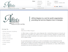 Tablet Preview of affinishospice.org